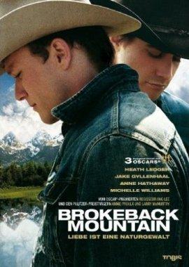 Brokeback Mountain – Heath Ledger, Jake Gyllenhaal, Randy Quaid, Michelle Williams, Anne Hathaway, David Trimble – Ang Lee – Western, Schwul-lesbisch – Filme, Kino, DVDs Kinofilm Romantik-Westerndrama – Charts, Bestenlisten, Top 10, Hitlisten, Chartlisten, Bestseller-Rankings