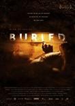 Buried – Lebend begraben – deutsches Filmplakat – Film-Poster Kino-Plakat deutsch