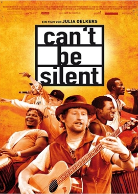 Can't Be Silent – deutsches Filmplakat – Film-Poster Kino-Plakat deutsch