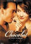 Chocolat ... ein kleiner Biss genügt – deutsches Filmplakat – Film-Poster Kino-Plakat deutsch