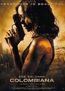 Colombiana – deutsches Filmplakat – Film-Poster Kino-Plakat deutsch
