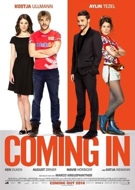 Coming In – deutsches Filmplakat – Film-Poster Kino-Plakat deutsch