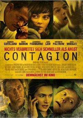 Contagion – deutsches Filmplakat – Film-Poster Kino-Plakat deutsch