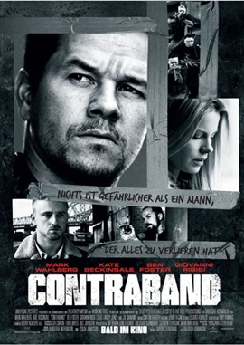 Contraband – deutsches Filmplakat – Film-Poster Kino-Plakat deutsch