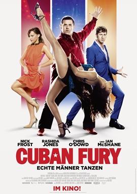 Cuban Fury – Echte Männer Tanzen – deutsches Filmplakat – Film-Poster Kino-Plakat deutsch
