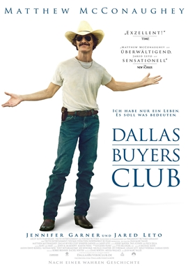 Dallas Buyers Club – deutsches Filmplakat – Film-Poster Kino-Plakat deutsch