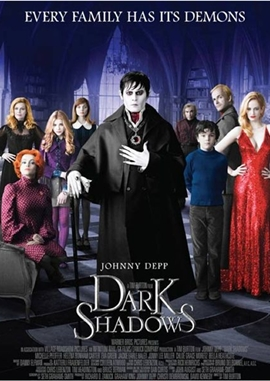 Dark Shadows – deutsches Filmplakat – Film-Poster Kino-Plakat deutsch