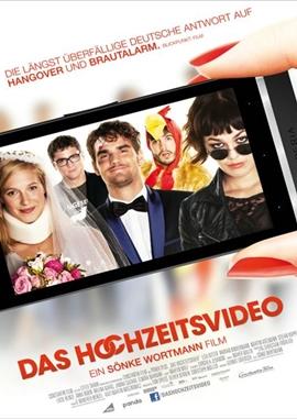 Das Hochzeitsvideo – deutsches Filmplakat – Film-Poster Kino-Plakat deutsch
