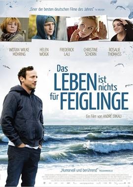 Das Leben ist nichts für Feiglinge – deutsches Filmplakat – Film-Poster Kino-Plakat deutsch