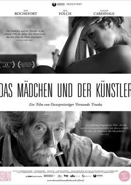 Das Mädchen und der Künstler – deutsches Filmplakat – Film-Poster Kino-Plakat deutsch