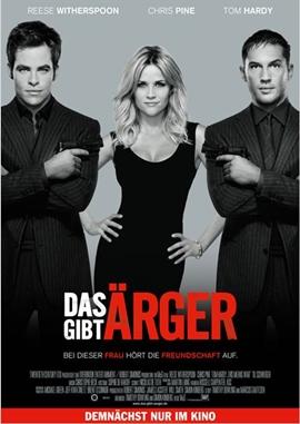 Das gibt Ärger – deutsches Filmplakat – Film-Poster Kino-Plakat deutsch