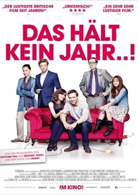 Das hält kein Jahr...! – deutsches Filmplakat – Film-Poster Kino-Plakat deutsch