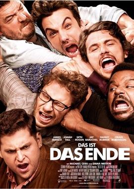 Das ist das Ende – deutsches Filmplakat – Film-Poster Kino-Plakat deutsch