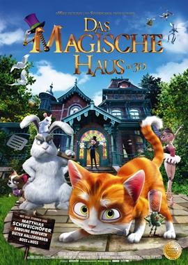 Das magische Haus – deutsches Filmplakat – Film-Poster Kino-Plakat deutsch