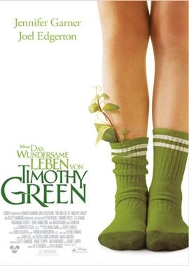 Das wundersame Leben von Timothy Green – deutsches Filmplakat – Film-Poster Kino-Plakat deutsch