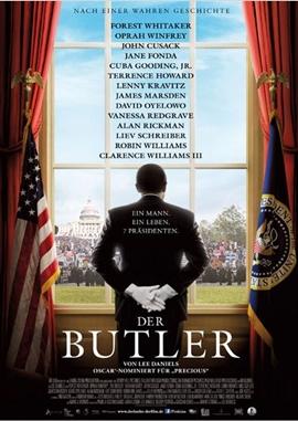 Der Butler – deutsches Filmplakat – Film-Poster Kino-Plakat deutsch