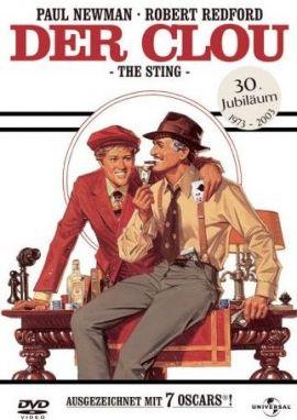 Der Clou – deutsches Filmplakat – Film-Poster Kino-Plakat deutsch