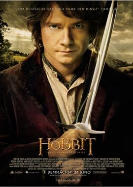 Der Hobbit – Eine unerwartete Reise – deutsches Filmplakat – Film-Poster Kino-Plakat deutsch