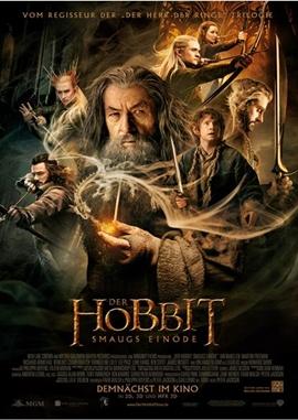 Der Hobbit – Smaugs Einöde – deutsches Filmplakat – Film-Poster Kino-Plakat deutsch