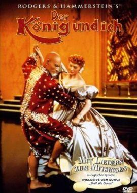 Der König und Ich – deutsches Filmplakat – Film-Poster Kino-Plakat deutsch