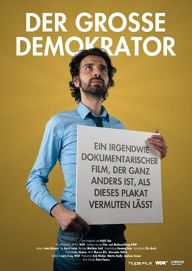 Der große Demokrator – deutsches Filmplakat – Film-Poster Kino-Plakat deutsch