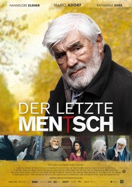 Der letzte Mentsch – deutsches Filmplakat – Film-Poster Kino-Plakat deutsch