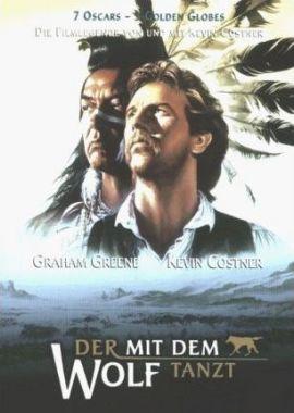 Der mit dem Wolf tanzt – deutsches Filmplakat – Film-Poster Kino-Plakat deutsch