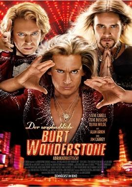 Der unglaubliche Burt Wonderstone – deutsches Filmplakat – Film-Poster Kino-Plakat deutsch