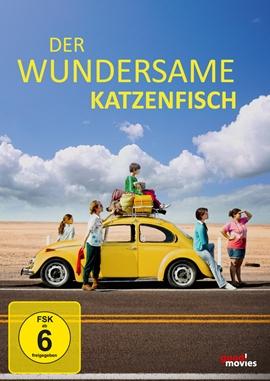 Der wundersame Katzenfisch – deutsches Filmplakat – Film-Poster Kino-Plakat deutsch