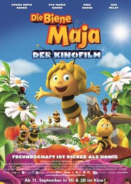 Die Biene Maja – Der Film – deutsches Filmplakat – Film-Poster Kino-Plakat deutsch