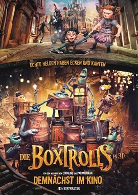 Die Boxtrolls – deutsches Filmplakat – Film-Poster Kino-Plakat deutsch