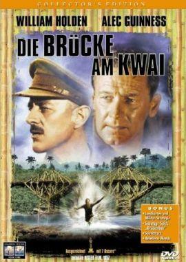 Die Brücke am Kwai – deutsches Filmplakat – Film-Poster Kino-Plakat deutsch