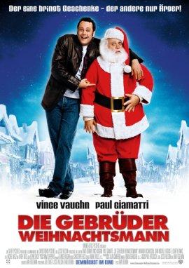 Die Gebrüder Weihnachtsmann – deutsches Filmplakat – Film-Poster Kino-Plakat deutsch