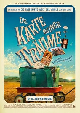 Die Karte meiner Träume – deutsches Filmplakat – Film-Poster Kino-Plakat deutsch