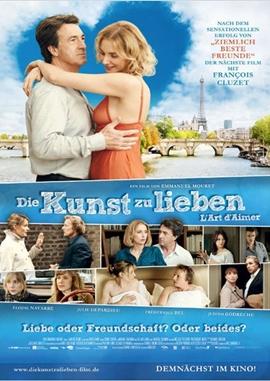 Die Kunst zu lieben – deutsches Filmplakat – Film-Poster Kino-Plakat deutsch