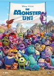 Die Monster AG 2 – Die Monster Uni – deutsches Filmplakat – Film-Poster Kino-Plakat deutsch