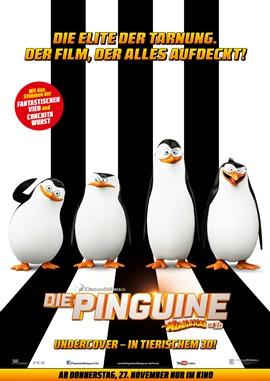 Die Pinguine aus Madagascar – deutsches Filmplakat – Film-Poster Kino-Plakat deutsch
