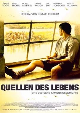 Die Quellen des Lebens – deutsches Filmplakat – Film-Poster Kino-Plakat deutsch