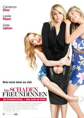 Die Schadenfreundinnen – deutsches Filmplakat – Film-Poster Kino-Plakat deutsch