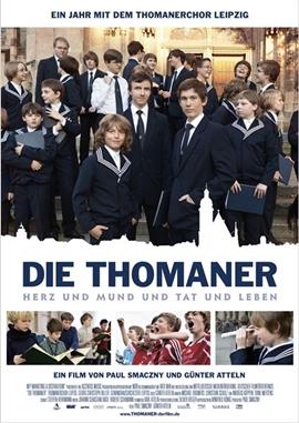 Die Thomaner – Herz und Mund und Tat und Leben – deutsches Filmplakat – Film-Poster Kino-Plakat deutsch
