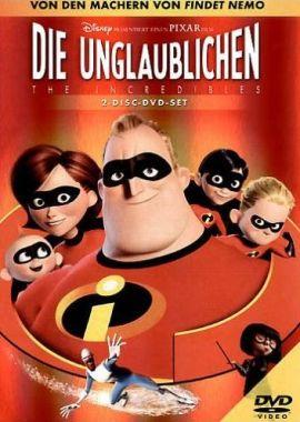 Die Unglaublichen – deutsches Filmplakat – Film-Poster Kino-Plakat deutsch