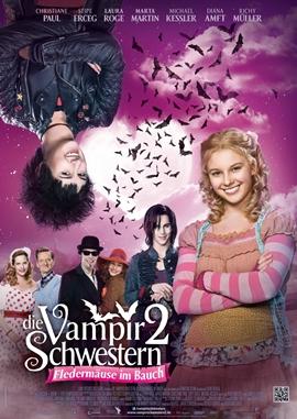 Die Vampirschwestern 2 – Fledermäuse im Bauch – deutsches Filmplakat – Film-Poster Kino-Plakat deutsch