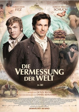 Die Vermessung der Welt – deutsches Filmplakat – Film-Poster Kino-Plakat deutsch