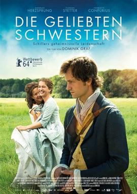 Die geliebten Schwestern – deutsches Filmplakat – Film-Poster Kino-Plakat deutsch