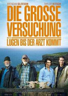 Die große Versuchung – Lügen, bis der Arzt kommt – deutsches Filmplakat – Film-Poster Kino-Plakat deutsch