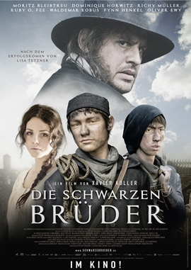 Die schwarzen Brüder – deutsches Filmplakat – Film-Poster Kino-Plakat deutsch