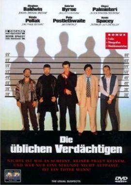 Die üblichen Verdächtigen – deutsches Filmplakat – Film-Poster Kino-Plakat deutsch