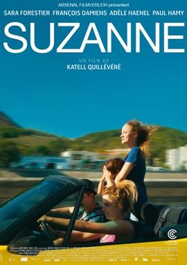 Die unerschütterliche Liebe der Suzanne – deutsches Filmplakat – Film-Poster Kino-Plakat deutsch