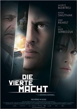 Die vierte Macht – deutsches Filmplakat – Film-Poster Kino-Plakat deutsch