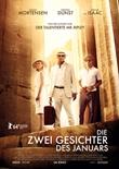 Die zwei Gesichter des Januars – deutsches Filmplakat – Film-Poster Kino-Plakat deutsch
